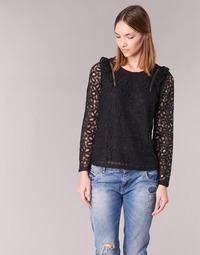 Textil Mulher Tops / Blusas Betty London HELO Preto