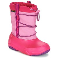 Sapatos Rapariga Botas de neve Crocs Swiftwater waterproof boot Festa / Rosa