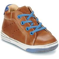 Sapatos Rapaz Sapatilhas de cano-alto Babybotte ANKARA Camel