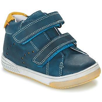 Sapatos Rapaz Sapatilhas de cano-alto Babybotte ANTILLES Azul