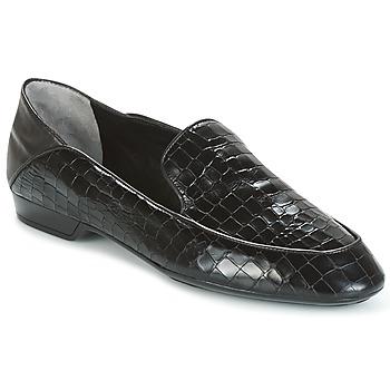 Sapatos Mulher Mocassins Robert Clergerie FANIN-COCCO-AGNEAU-NOIR Preto