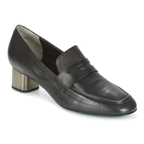Sapatos Mulher Slip on Robert Clergerie POVIA-AGNEAU-NOIR Preto