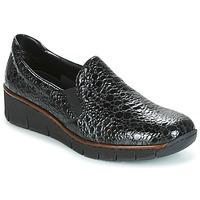 Sapatos Mulher Slip on Rieker LLOYD Preto
