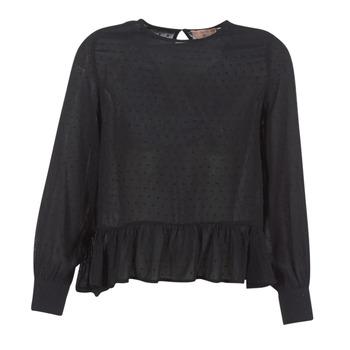 Textil Mulher Tops / Blusas Moony Mood HARMO Preto