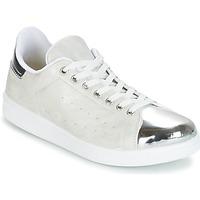 Sapatos Mulher Sapatilhas Yurban HETTANE Cinza / Prata