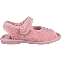 Sapatos Criança Pantufas bebé Vulladi TOALLA ÑAK VELCRO ROSA