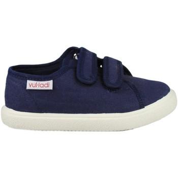 Sapatos Criança Sapatilhas Vulladi PIQUE AZUL