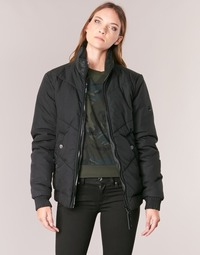 Textil Mulher Jaquetas G-Star Raw STRETT CHEVRON JKT Preto