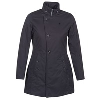 Textil Mulher Casacos G-Star Raw MINOR CLASSIC PADDED SLIM COAT Preto