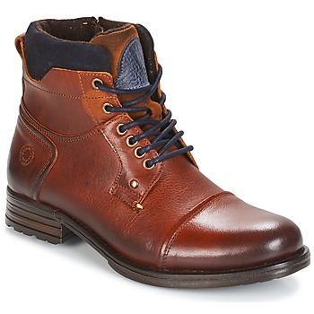 Sapatos Homem Botas baixas Coxx Borba AGOZ Camel / Azul