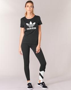 Textil Mulher Collants adidas Originals EQT LEGGINGS Preto / Branco
