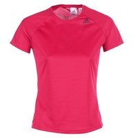 Textil Mulher T-Shirt mangas curtas adidas Performance D2M TEE LOSE Rosa