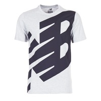 Textil Homem T-Shirt mangas curtas New Balance NB ESSENTIEL T Cinza