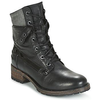 Sapatos Mulher Botas baixas Pataugas DEDAY Preto