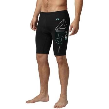 Textil Homem Shorts / Bermudas Reebok Sport Cycle Short Preto