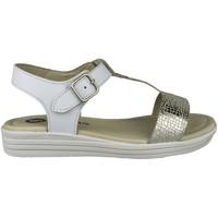 Sapatos Rapariga Sandálias Garvalin S BLANCO