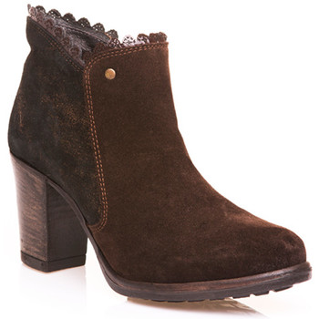 Sapatos Mulher Botins Onlineshoesportugal 12001-04 INNOCENT SHOES Castanho