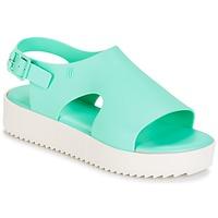 Sapatos Mulher Sandálias Melissa HOTNESS Verde / Branco