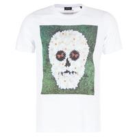 Textil Homem T-Shirt mangas curtas Diesel JOE QM Branco