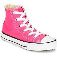 Sapatos Rapariga Sapatilhas de cano-alto Converse CHUCK TAYLOR ALL STAR SEASONAL HI PINK POW Rosa
