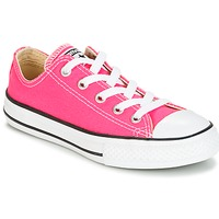 Sapatos Rapariga Sapatilhas Converse CHUCK TAYLOR ALL STAR SEASONAL OX PINK POW Rosa
