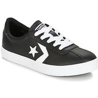 Sapatos Criança Sapatilhas Converse BREAKPOINT FOUNDATIONAL LEATHER BP OX BLACK/WHITE/BLACK Preto / Branco