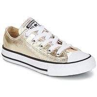 Sapatos Rapariga Sapatilhas Converse CHUCK TAYLOR ALL STAR Ouro / Branco / Preto