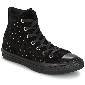 Sapatos Mulher Sapatilhas de cano-alto Converse CHUCK TAYLOR ALL STAR HI Preto
