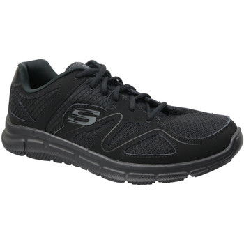 Sapatos Homem Sapatilhas Skechers Satisfaction 58350-BBK preto