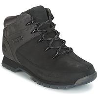 Sapatos Homem Botas baixas Timberland EURO SPRINT HIKER Preto / Cinza