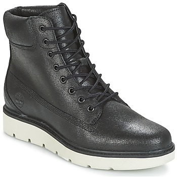 Sapatos Mulher Sapatilhas de cano-alto Timberland KENNISTON 6IN LACE UP Preto