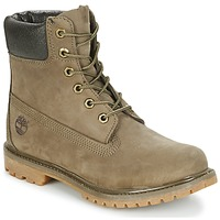 Sapatos Mulher Botas baixas Timberland 6IN PREMIUM BOOT - W Canteen / Castanho