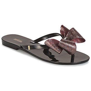 Sapatos Mulher Escarpim Melissa HARMONIC TARTAN AD Preto