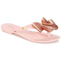 Sapatos Mulher Chinelos Melissa HARMONIC TARTAN AD Rosa