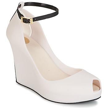 Sapatos Mulher Sandálias Melissa PATCHULI IX AD Bege / Preto