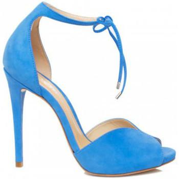 Sapatos Mulher Sandálias Schutz Sandálias Heart Shape Blue Azul