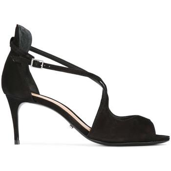 Sapatos Mulher Sandálias Schutz Strappy Black Preto