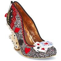 Sapatos Mulher Escarpim Irregular Choice LAS VEGAS Prateado / Preto