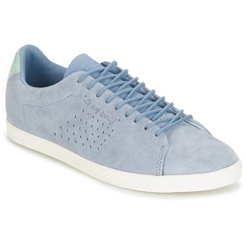 Sapatos Mulher Sapatilhas Le Coq Sportif CHARLINE NUBUCK Azul