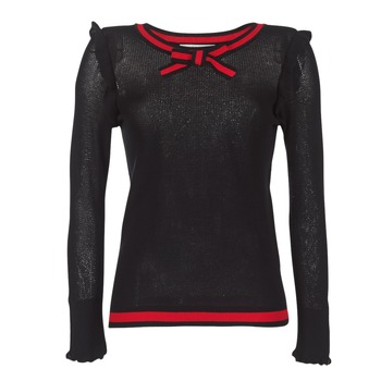 Textil Mulher camisolas Morgan MIRTI Preto / Vermelho