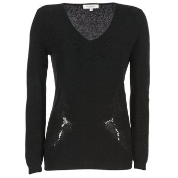 Textil Mulher camisolas Morgan MDAN Preto