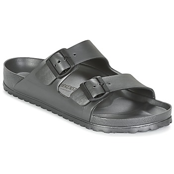 Sapatos Homem Chinelos Birkenstock ARIZONA Cinza