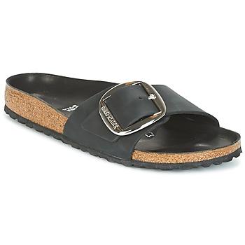 Sapatos Mulher Chinelos Birkenstock MADRID BIG BUCKLE Preto
