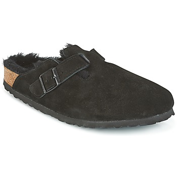 Sapatos Mulher Tamancos Birkenstock BOSTON Preto