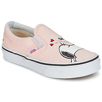 Sapatos Rapariga Slip on Vans TD CLASSIC SLIP-ON SNOOPY Rosa