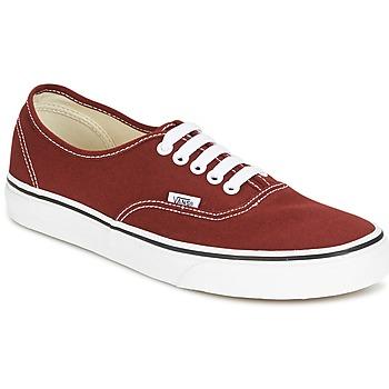 Sapatos Sapatilhas Vans AUTHENTIC Vermelho