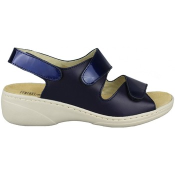 Sapatos Mulher Sandálias Comfort Class SANDALIA COMODA PLANTILLA EXTRAIBLE MARINO
