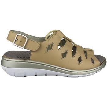 Sapatos Mulher Sandálias Comfort Class SANDALIA COMODA CORDONES BEIGE