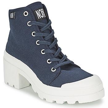 Sapatos Mulher Sapatilhas de cano-alto No Box GALIA Marinho