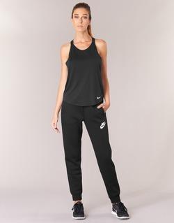 Textil Mulher Calças de treino Nike RALLY PANT Preto / Branco